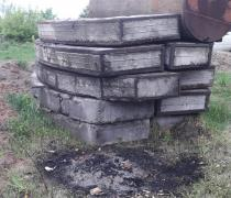 Бетонные армированые плиты