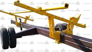 Cart for corn harvester one-and two-axle, buy, price