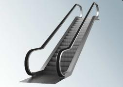 Fencing for escalators and glass lifts