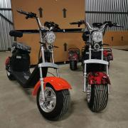 Harley-Davidson Fat Boy 3000 Вт Найновіша жирова шина Citycoco Electric Scooter