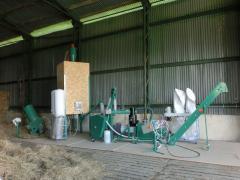 Линии гранулирования растительной биомассы