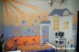 Liquid Wallpaper on the wall inexpensive (over 800 colors and textures)