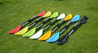 Paddle for kayak kayak two-piece