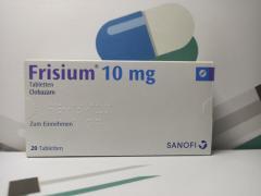 Продаж ліків з Польщі: Sabril, Frizium, Ospolot