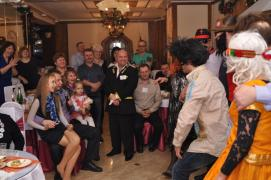 Professional toastmaster leading to the wedding +music