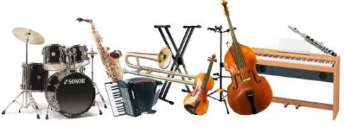 Rent, rental of musical instruments in Kiev