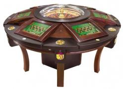 Selling pneumatic 6-seater gaming roulette in Dnipro