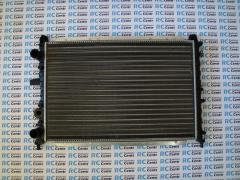 The radiators on the car
