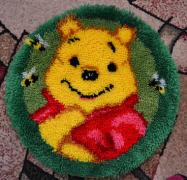 The rug in the nursery